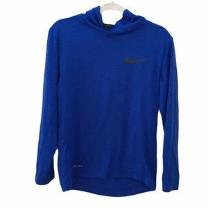 Nike Hoodie Dry Fit T-Shirt Top Size Small